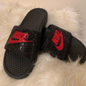12718e4aaea6 Women s Custom Nike Sandals on Poshmark